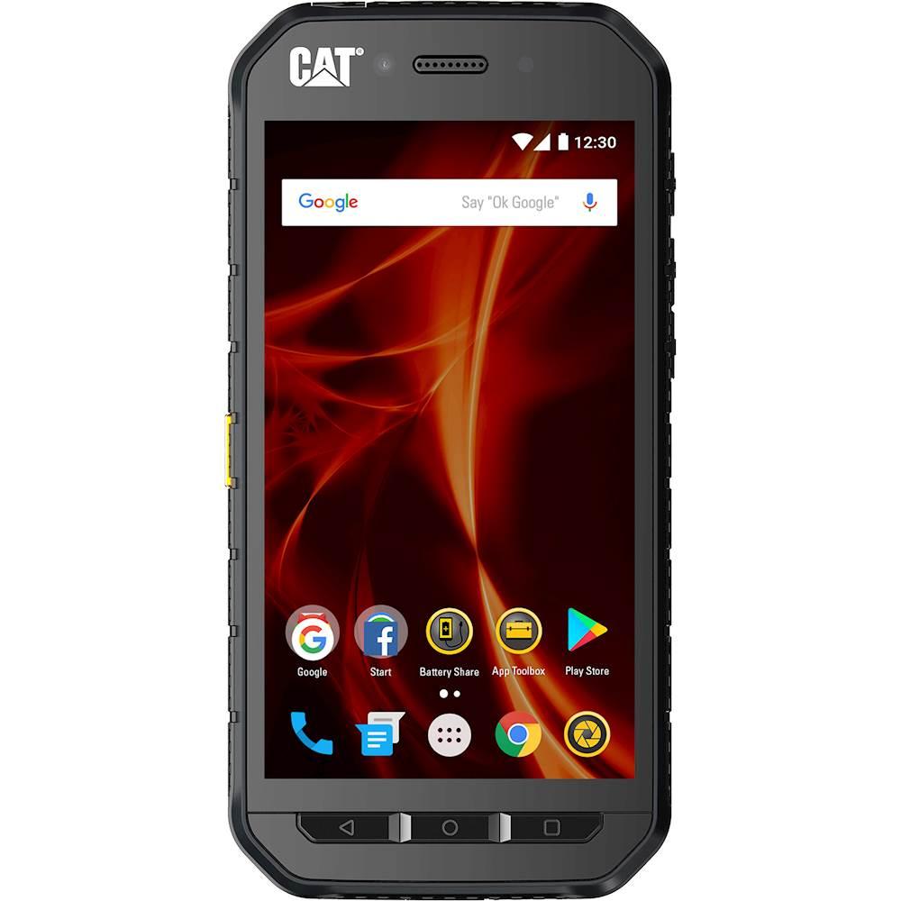 CAT S41 4G LTE with 32GB Memory Cell Phone (Unlocked) Black CS41SBBNAMUN