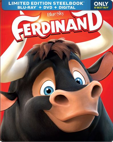 Ferdinand [Blu-ray/DVD] [SteelBook] [Only @ Best Buy] [2017] 6179608