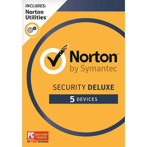Norton Security Deluxe (5 Devices) (1-Year Subscription) + Norton Utilities (3 Devices) - AndroidMacWindowsiOS 6180831