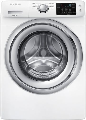 Samsung - 4.5 Cu. Ft. 8-Cycle Front-Loading Washer - White 6180835