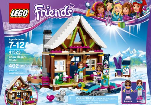 LEGO® Friends Snow Resort Chalet 41323