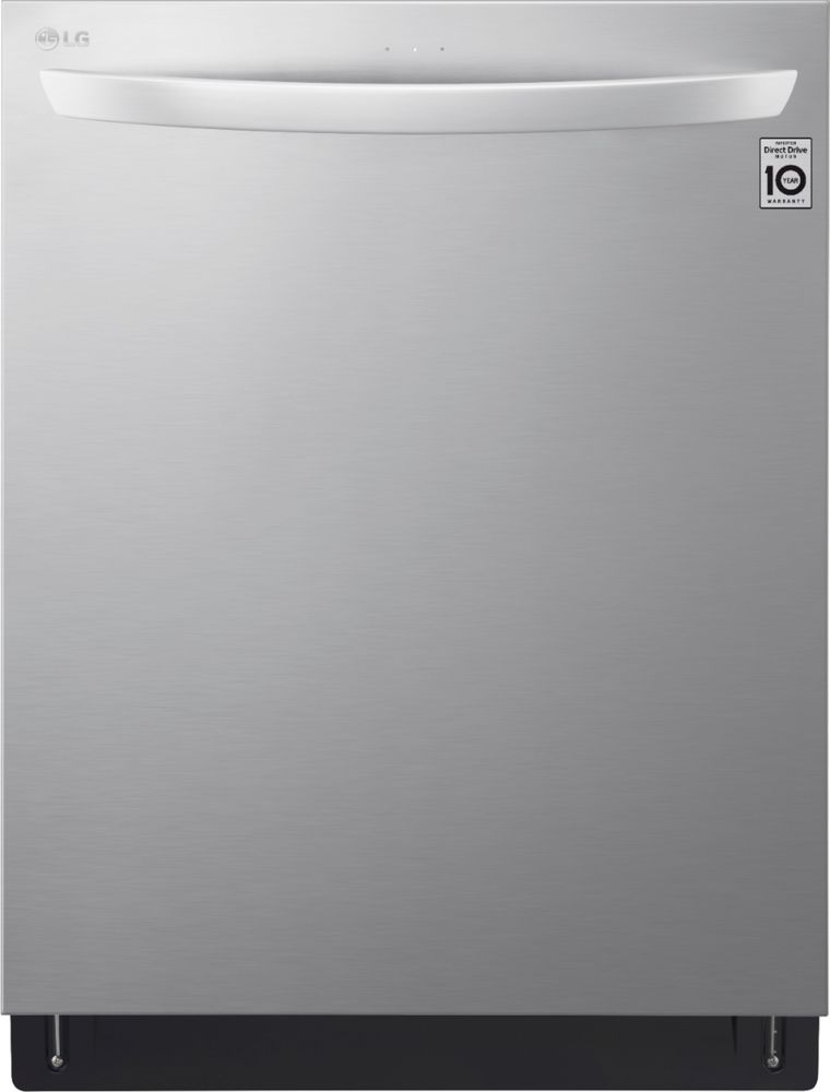 """LG 24"""" Top Control Built-In Dishwasher with Stainless Steel Tub Stainless steel LDT7808ST"""