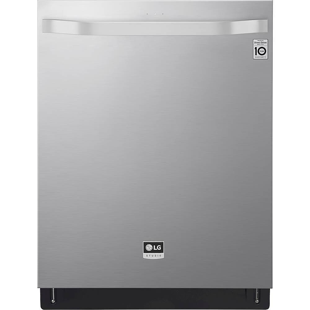 """LG LSDT9908ST 24"""" Top Control Built-In Dishwasher with Stainless Steel Tub steel"""