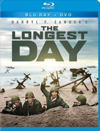 The Longest Day [2 Discs] [Blu-ray/DVD] [1962] 6184236