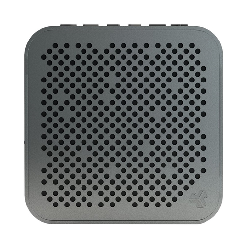 JLab Audio - Crasher Mini Portable Bluetooth Speaker - Gunmetal 6184816