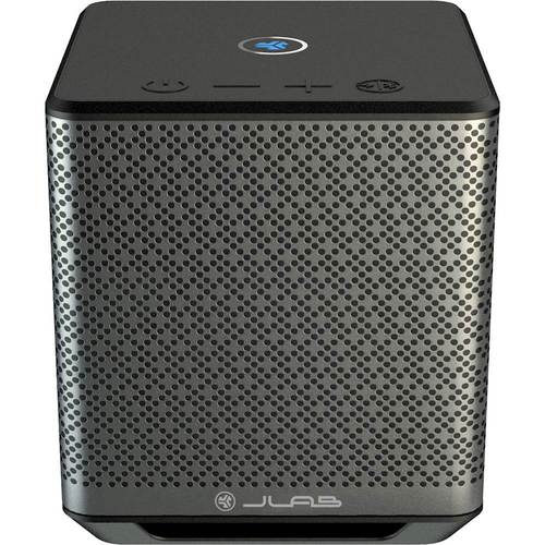 JLab Audio - Block Party Wireless Speaker - Gray/Black