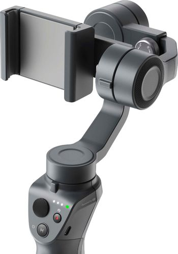 DJI - Osmo Mobile 2 3-Axis Gimbal Stabilizer for Mobile Phones - Gray