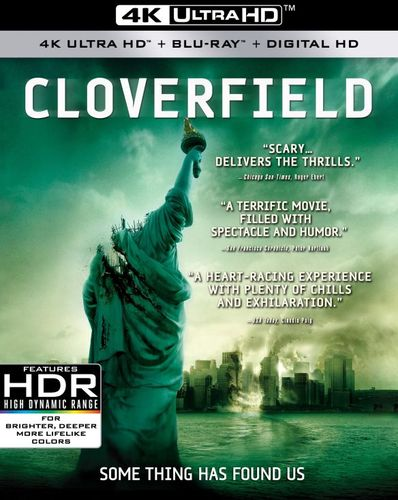 Cloverfield [4K Ultra HD Blu-ray/Blu-ray] [2 Discs] [2008] 6190500
