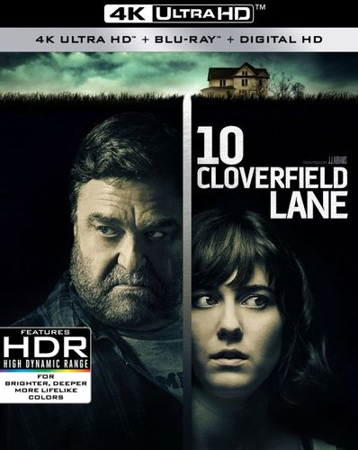 10 Cloverfield Lane [4K Ultra HD Blu-ray/Blu-ray] [2 Discs] [2016] 6190502