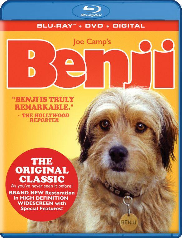Benji [Blu-ray/DVD] [2 Discs] [1974] 6192102