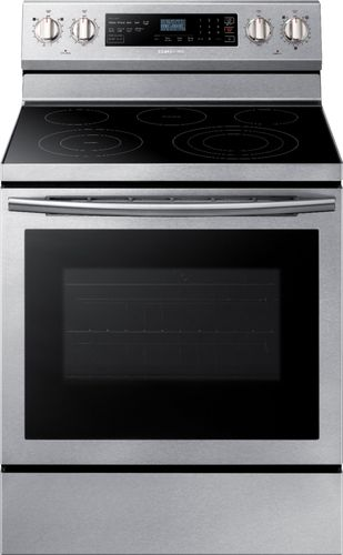 Samsung NE59N6630SS - Range - freestanding - niche - width: 30 in - depth: 25 in - with self-cleaning - stainless steel