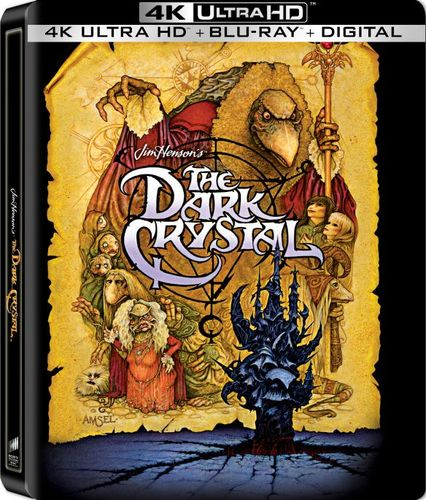 The Dark Crystal [SteelBook] [4K Ultra HD Blu-ray/Blu-ray] [Only @ Best Buy] [1982] 6193919