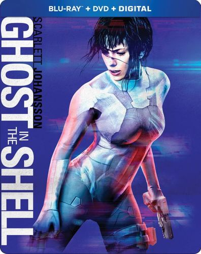 Ghost in the Shell [SteelBook] [Blu-ray] [2017] 6193984