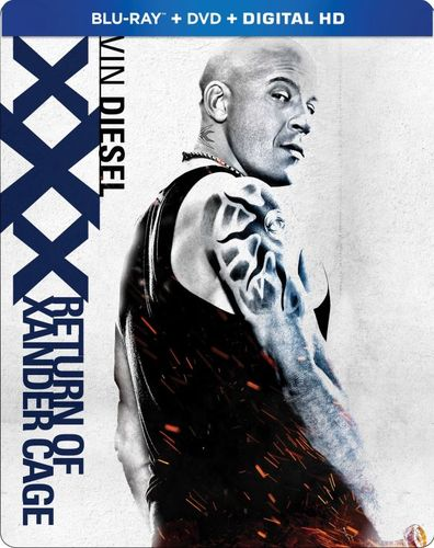 XXX: Return of Xander Cage [SteelBook] [Blu-ray] [2017] 6193989