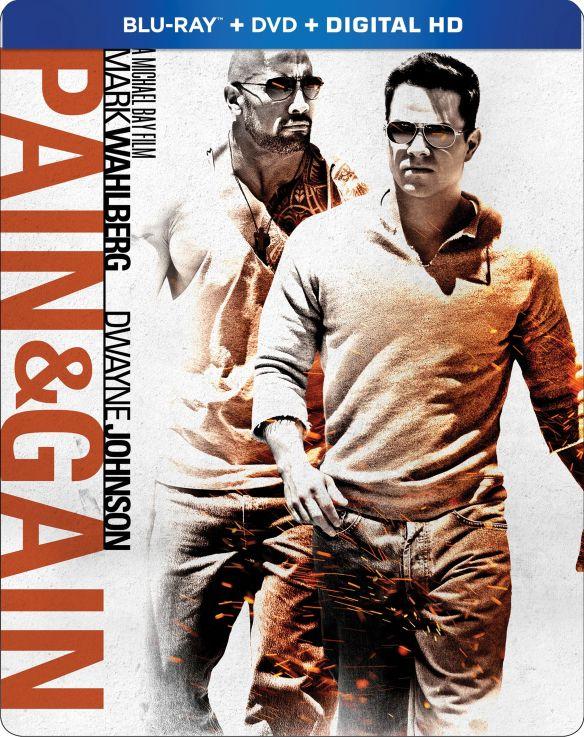 Pain and Gain [SteelBook] [Blu-ray] [2013] 6193992