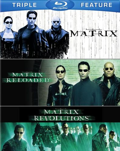 The Matrix/Matrix Reloaded/Matrix Revolutions [Blu-ray] 6194137