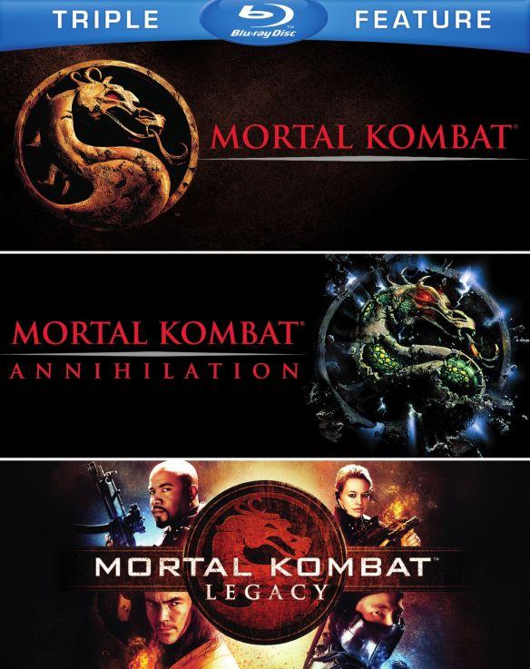 Mortal Kombat/Mortal Kombat 2/Mortal Kombat: Legacy [Blu-ray] 6194139