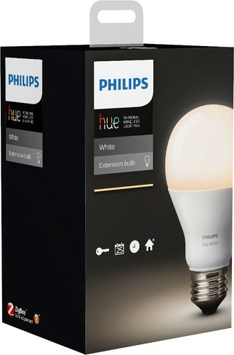 Philips Hue White A19 Smart LED Bulb CA Only White Only 530345