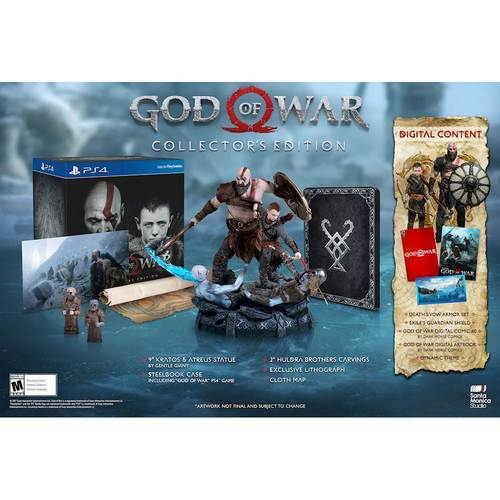God of War Collector's Edition - PlayStation 4 6197551