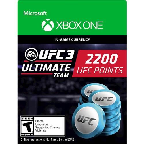 2,200 UFC 3 Points