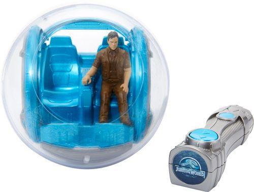 Mattel - Jurassic World Gyrosphere - Gray/White/Blue 6198800
