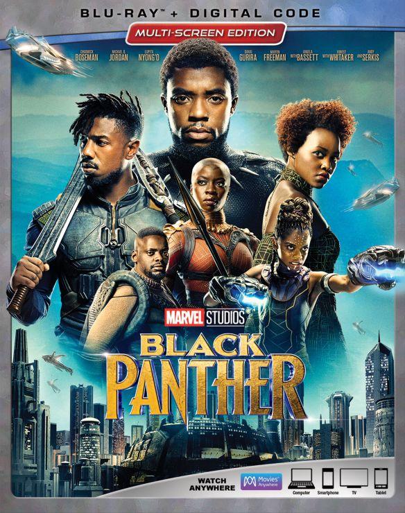 Black Panther [Blu-ray] [2018] 6198912