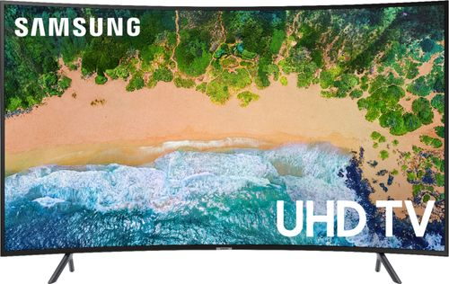 "Samsung 55"" Smart Curved UHD TV - Black (UN55NU7300FXZA)"