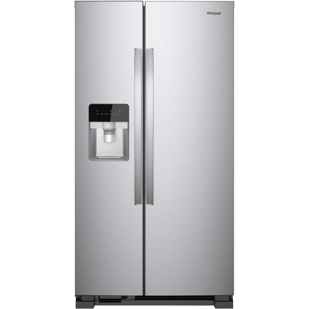 Ft Side By Refrigerator Monochromatic Stainless