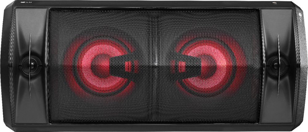 "LG Dual 5-1/4"" Powered Wireless 2-Way Speaker (Each) Black FJ5"