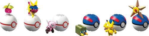Mega Construx Pokemon Buildable Poke Ball (Styles May Vary)