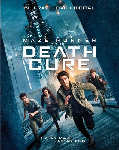 Maze Runner: The Death Cure [Blu-ray/DVD] [2018] 6202786