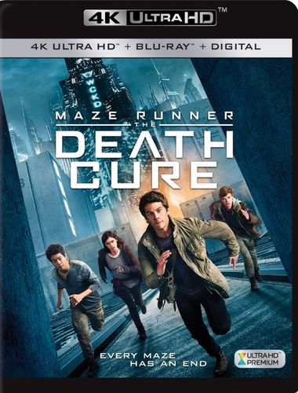 Maze Runner: The Death Cure [4K Ultra HD Blu-ray/Blu-ray] [2018] 6202788