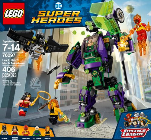 LEGO - DC Comics Super Heroes Lex Luthor Mech Takedown 6203152