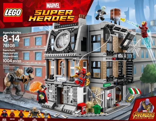 LEGO Super Heroes Marvel Avengers Movie Sanctum Sanctorum Showdown 76108