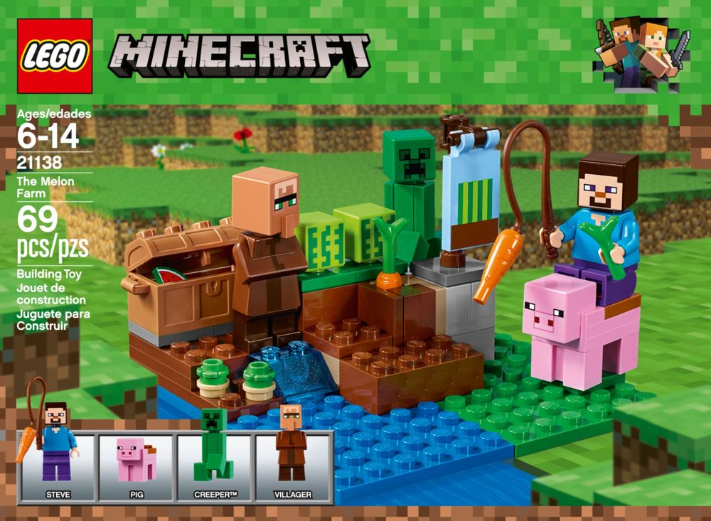 LEGO Minecraft 21114... Compare Best Prices & Online Shopping