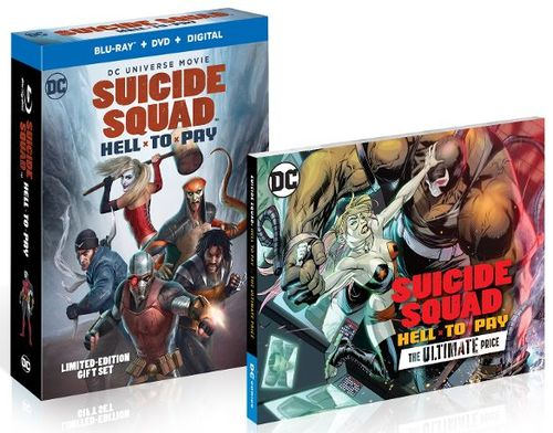 Suicide Squad: Hell to Pay [Limited Edition] [Blu-ray/DVD] [2018] 6203224