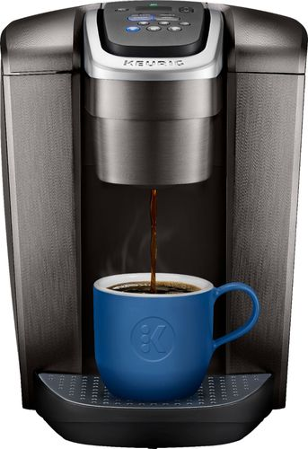 Keurig - K-Elite Single-Serve K-Cup Pod Coffee Maker - Brushed Slate 6203568