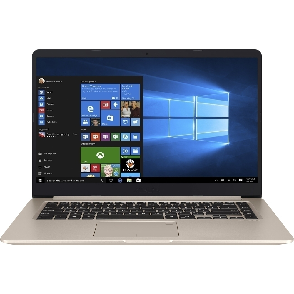 """Asus 15.6"""" Laptop Intel Core i5 8GB Memory 256GB Solid State Drive Icicle Gold S510UADS51"""