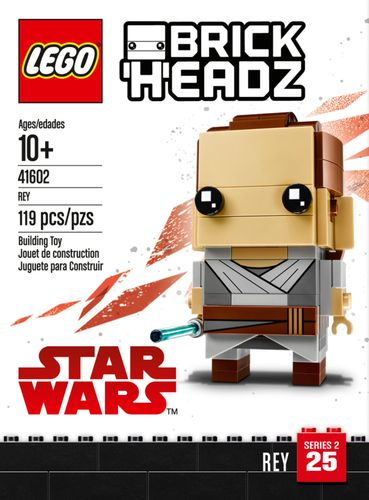 LEGO Star Wars BrickHeadz Rey 41602