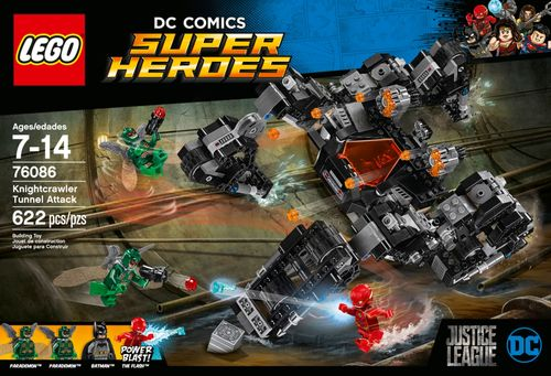 LEGO - DC Comics Super Heroes Knightcrawler Tunnel Attack 6204051