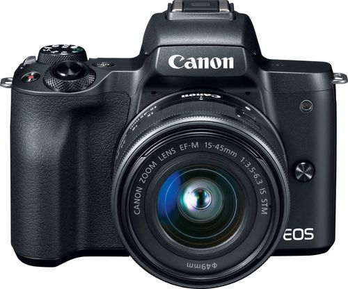 Canon EOS M50 Mirrorless with 15-45mm STM Lens Kit