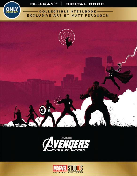 Avengers: Age of Ultron [SteelBook] [Blu-ray] [Only @ Best Buy] [2015] 6204575