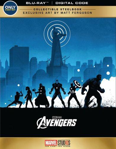 Marvel's The Avengers [SteelBook] [Blu-ray] [Only @ Best Buy] [2012] 6204576