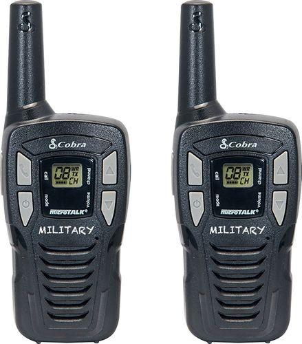 Cobra HE145 16-Mile 22-Channel FRS/GMRS 2-Way Radios (Black)
