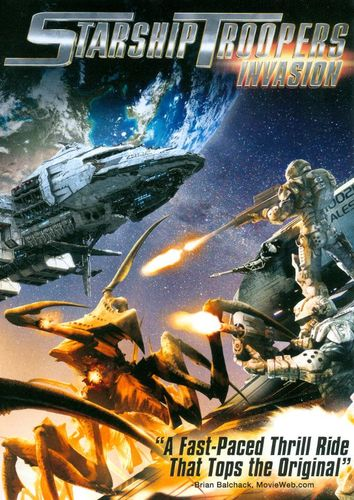 Starship Troopers: Invasion [Includes Digital Copy] [UltraViolet] [DVD] [2012] 6209452