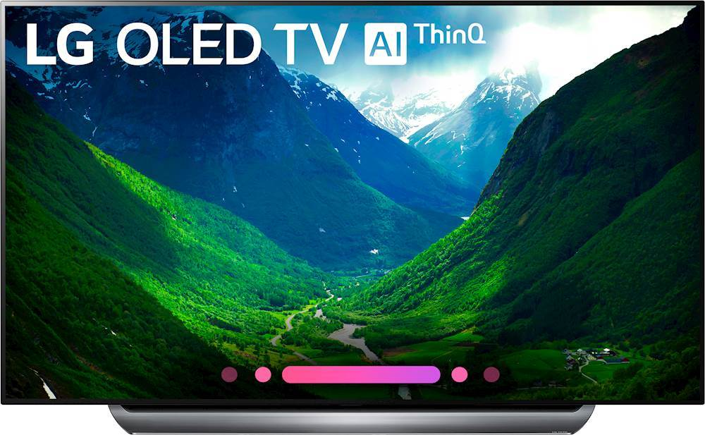 """LG - 77"""" Class - OLED - C8PUA Series - 2160p - Smart - 4K UHD TV with HDR largeFrontImage"""