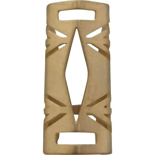 Funktional Wearables - The HAYDEN Protective Cover for Fitbit Flex 2 Activity Tracker - Brushed Gold