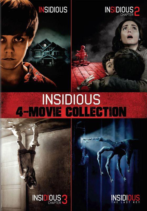 Insidious/Insidious: Chapter 2/Insidious: Chapter 3/Insidious: The Last Key [DVD] 6213244