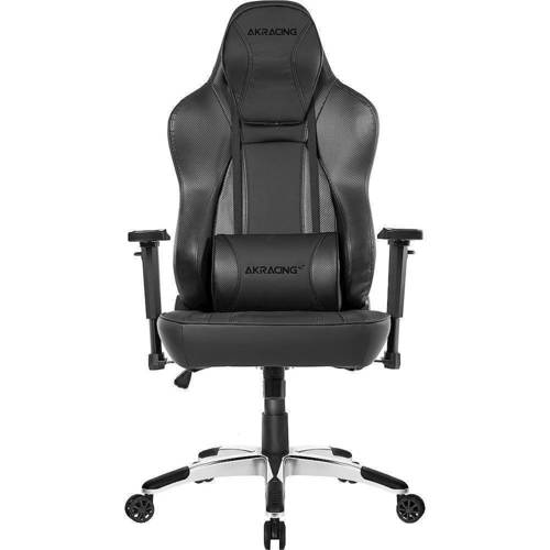 AKRacing Obsidian Pleather Executive Office Chair, Carbon Fiber