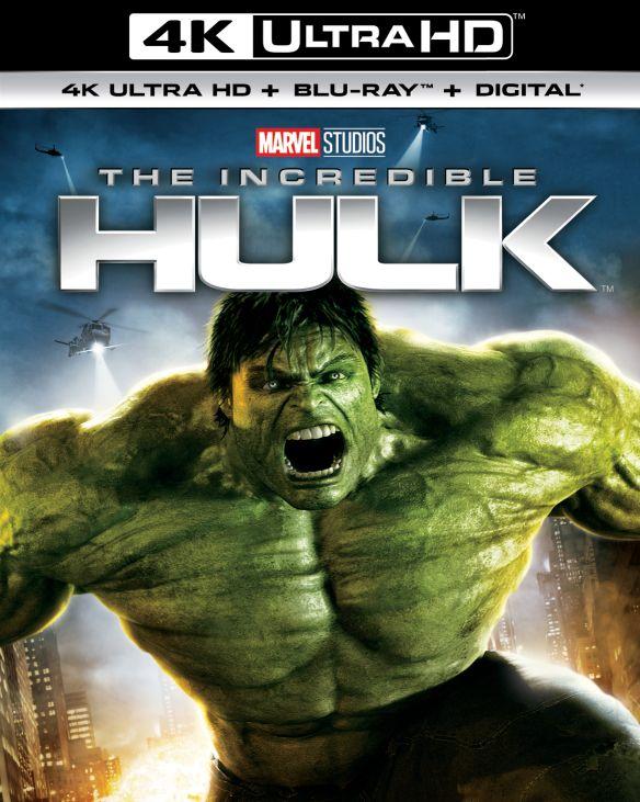 The Incredible Hulk [4K Ultra HD Blu-ray/Blu-ray] [2008] 6216321